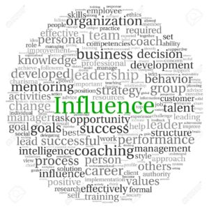 influence-concept-in-word-tag-cloud-on-white-background-stock-photo